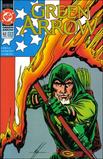 Green Arrow (1988) 62-A by DC