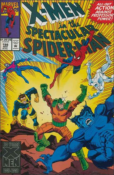 Spectacular Spider-Man (1976) 198-A by Marvel