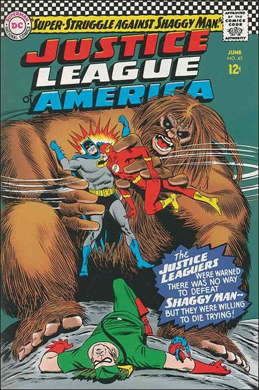 Justice League of America (1960) 45-A by DC