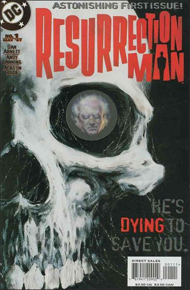 Resurrection Man (1997) 1-A by DC