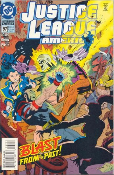 Justice League America 97-A by DC