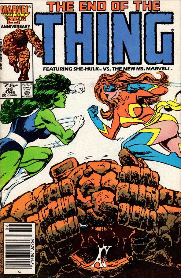 Thing (1983) 36-A by Marvel