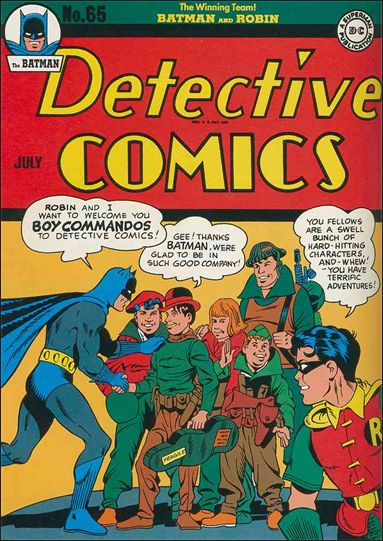 Detective Comics (1937) 65-A by DC