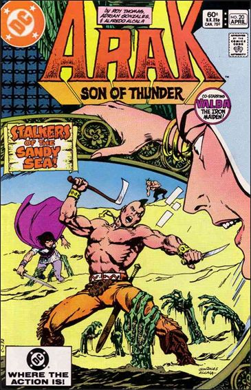 Arak Son of Thunder 20-A by DC