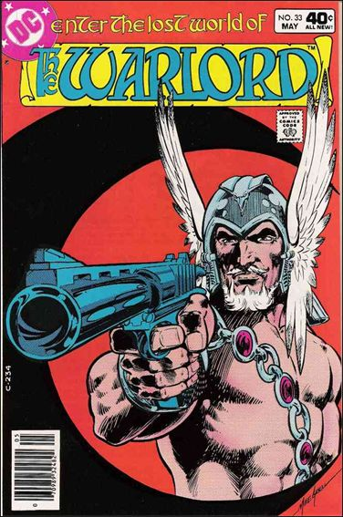 Warlord (1976) 33-A by DC