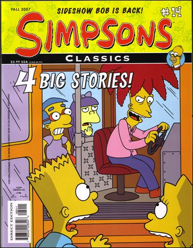 Simpsons Classics 14-A by Bongo