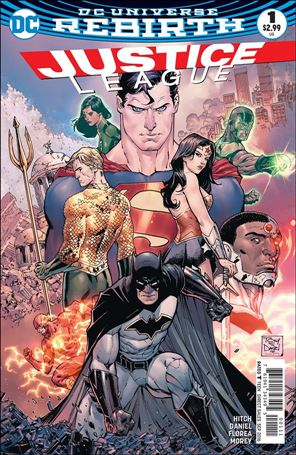 Justice League (2016) 1-A