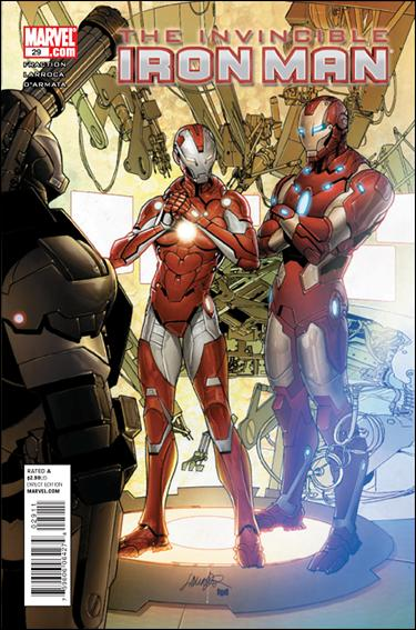 Invincible Iron Man (2008) 29-A by Marvel