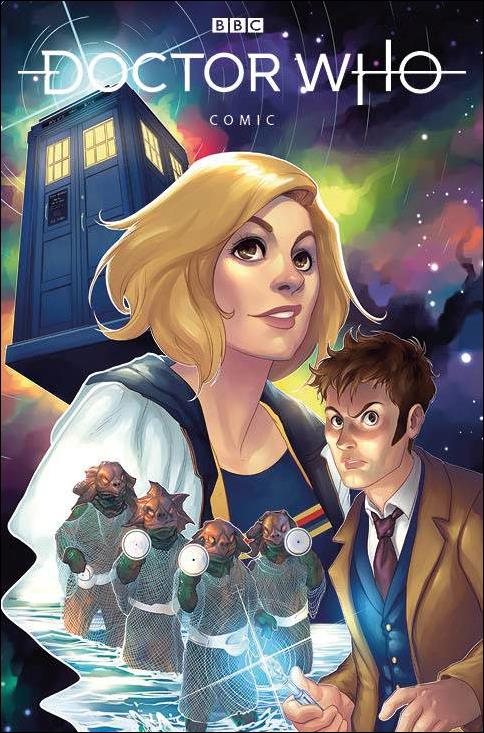 Doctor Who Comics 3-A by Titan