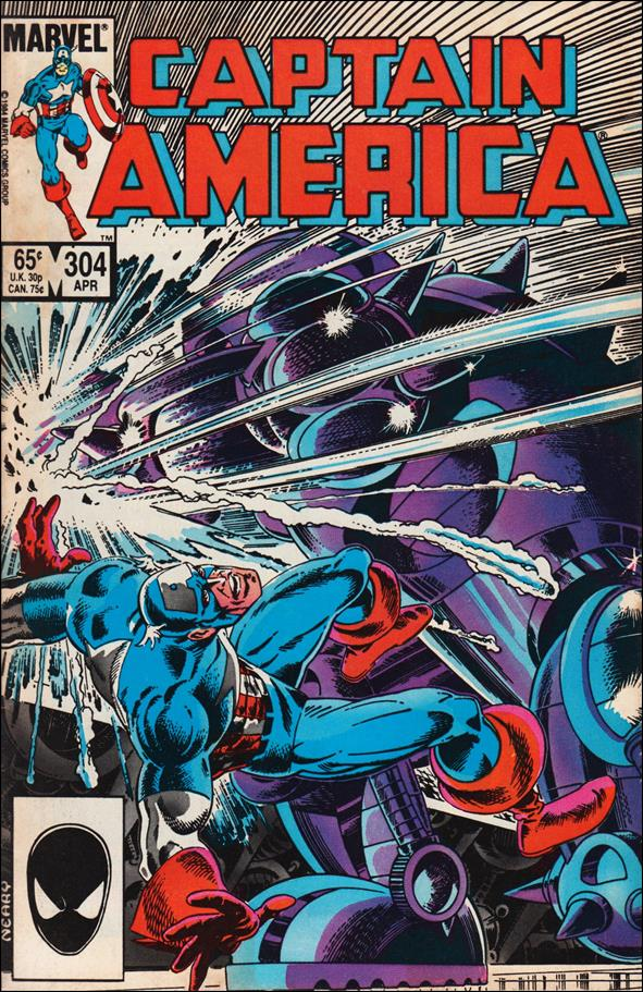 Captain America (1968) 304-A by Marvel