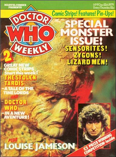 Doctor Who Weekly 9-A by Marvel UK