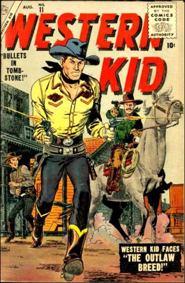 Western Kid (1954) 11-A by Atlas