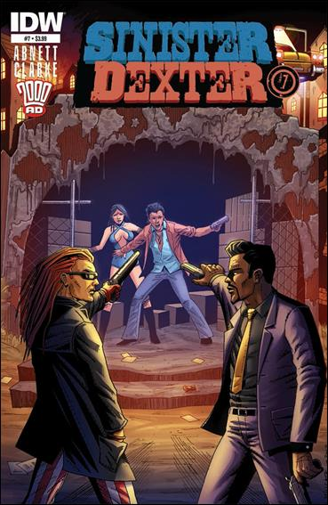 Sinister Dexter (2013) 7-A by IDW