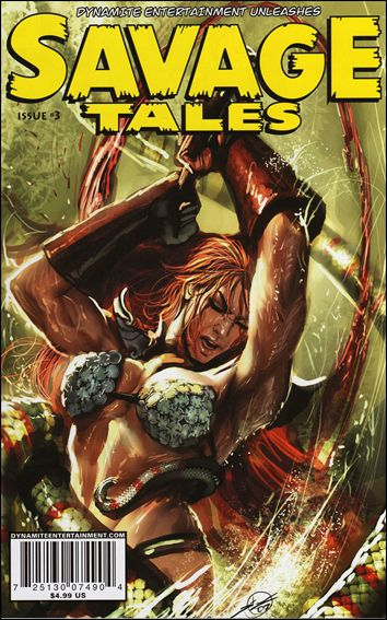 Savage Tales (2007) 3-B by Dynamite Entertainment