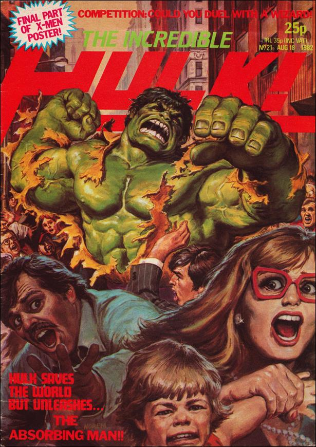 Incredible Hulk (UK) 21-A by Marvel UK