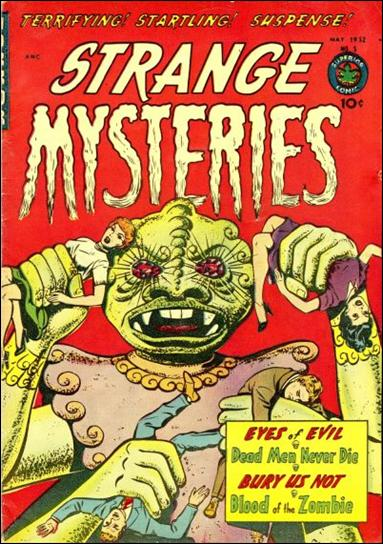 Strange Mysteries (1951) 5-A by Superior