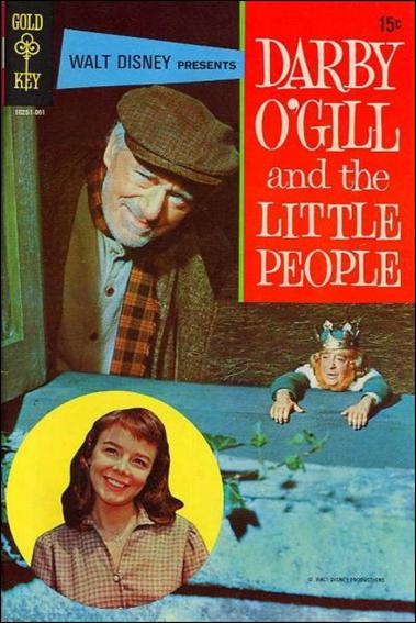 Walt Disney Presents Darby O'Gill and the Little People nn-A by Gold Key