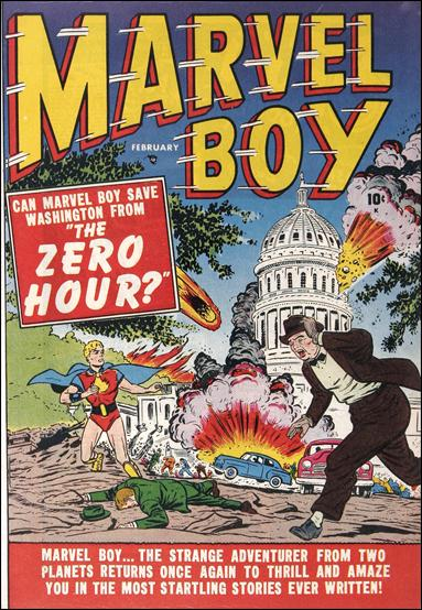 Marvel Boy (1950) 2-A by Atlas