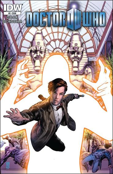 Doctor Who (2012) 2-A by IDW