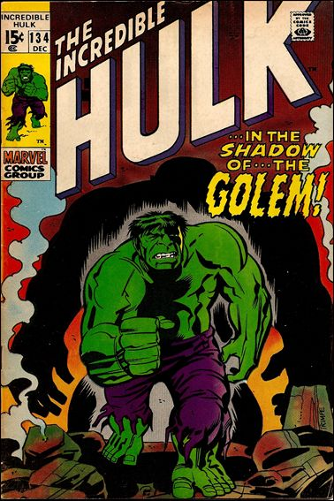 Incredible Hulk (1968) 134-A by Marvel