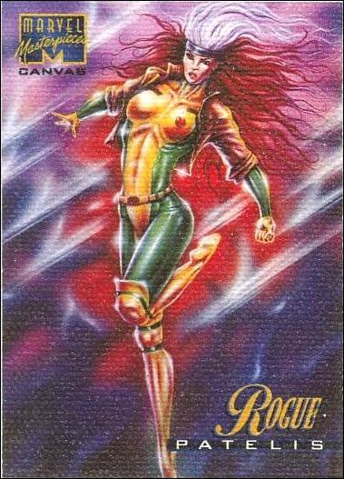 1995 Marvel Masterpieces (Canvas Subset) 18-A by Fleer