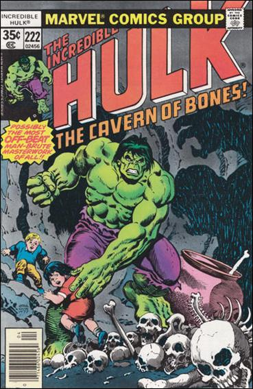 Incredible Hulk (1968) 222-A by Marvel