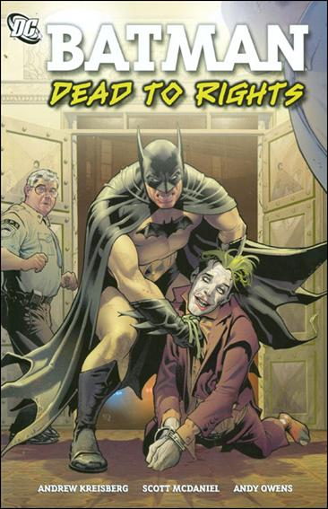 Batman: Dead to Rights 1-A by DC