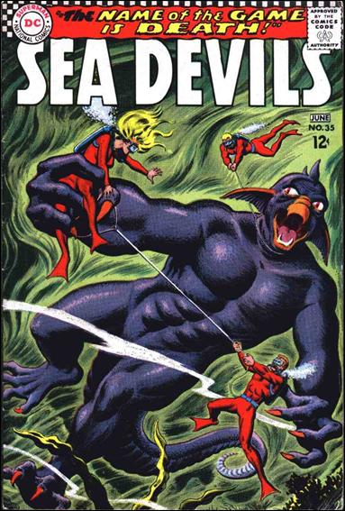 Sea Devils 35-A by DC