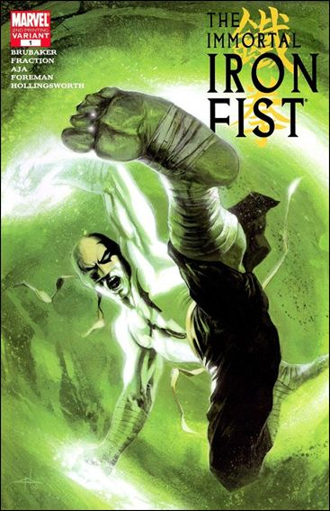 Immortal Iron Fist 1-C by Marvel