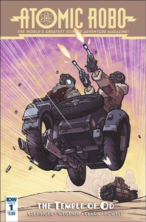 Atomic Robo and the Temple of Od 1-A