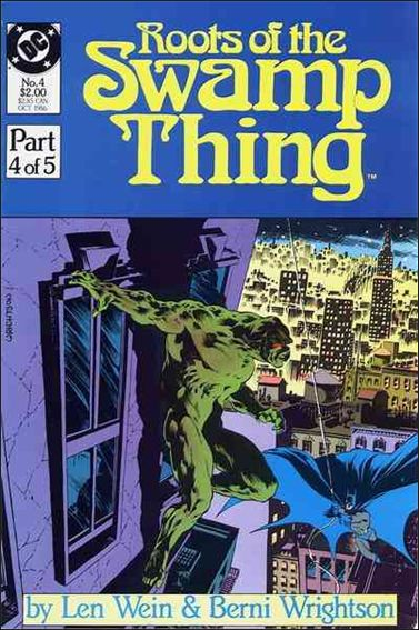 Roots of the Swamp Thing 4-A by DC