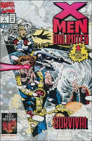 X-Men Unlimited (1993) 1-A