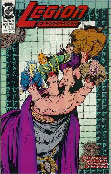 Legion of Super-Heroes (1989) 6-A by DC