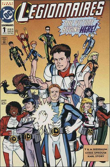 Legionnaires 1-A by DC