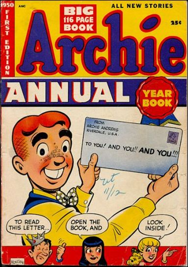 Archie Annual 1-A by Archie