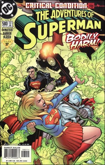 Adventures of Superman (1987) 580-A by DC
