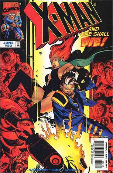 X-Man 52-A by Marvel