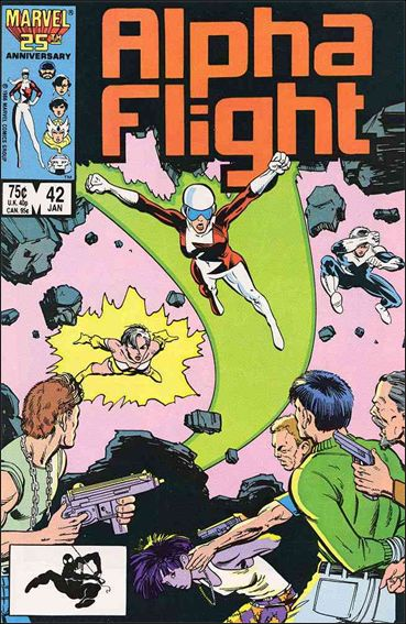 Alpha Flight (1983) 42-A by Marvel