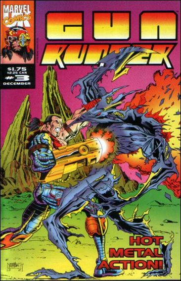 Gun Runner (UK) 3-A by Marvel UK