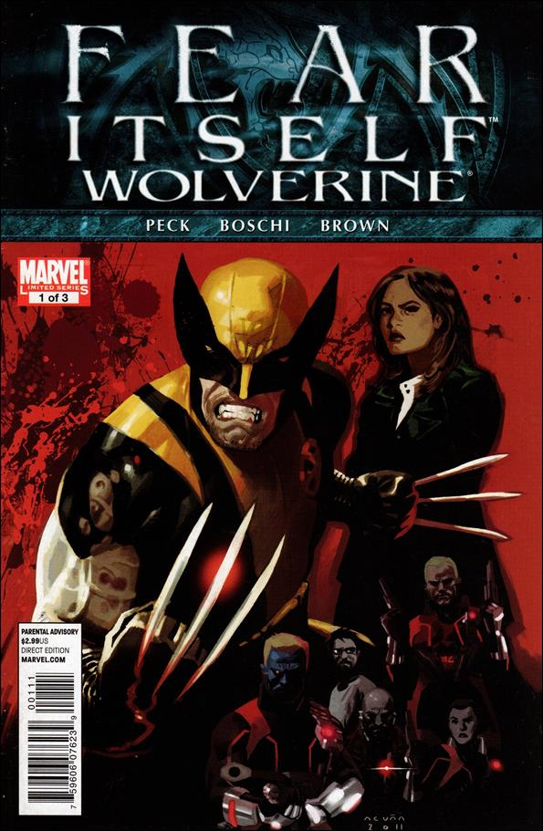 Fear Itself: Wolverine 1-A by Marvel