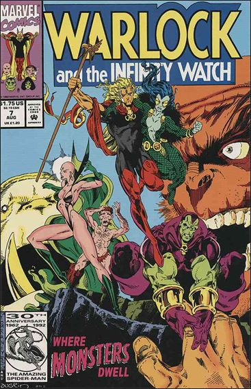 Warlock and the Infinity Watch 7-A by Marvel