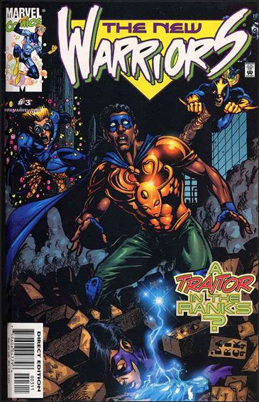 New Warriors (1999) 3-A by Marvel