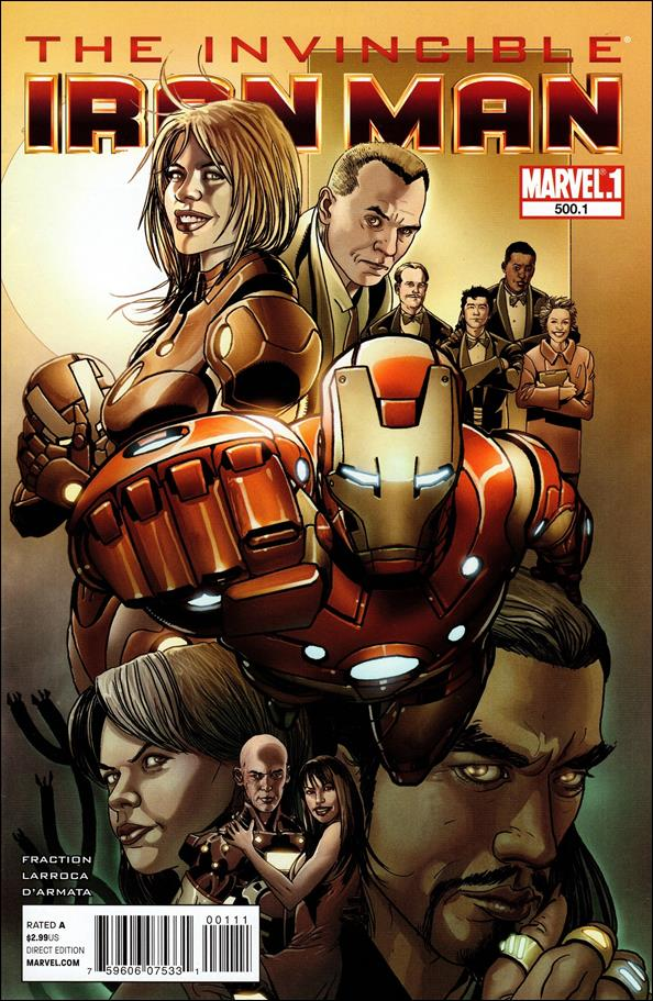 Invincible Iron Man (2008) 500.1-A by Marvel