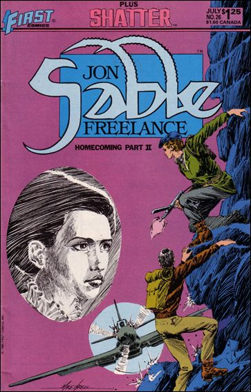 Jon Sable, Freelance 26-A by First