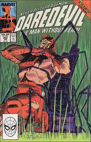 Daredevil (1964) 262-A by Marvel