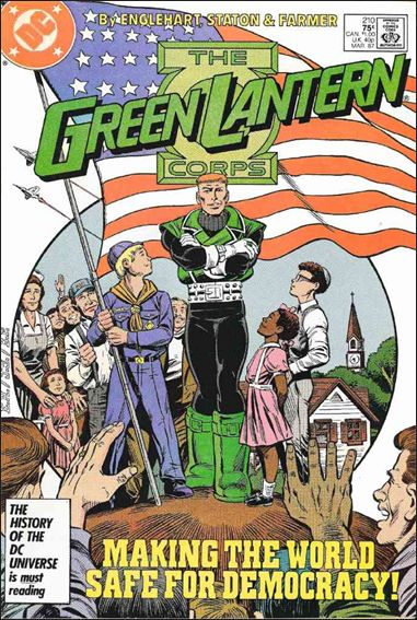 Green Lantern Corps (1986) 210-A by DC