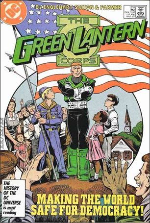 Green Lantern Corps (1986) 210-A