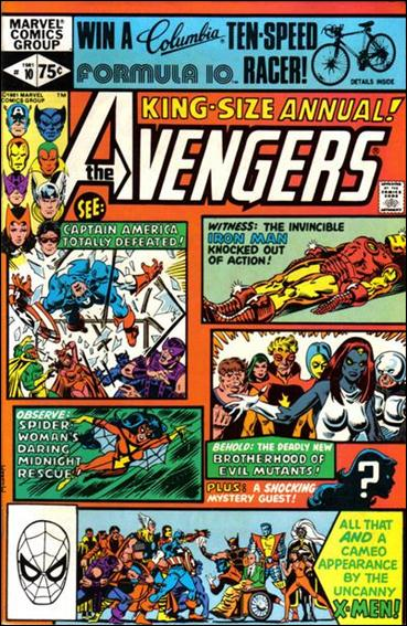 Avengers Annual 10-A by Marvel