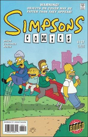 Simpsons Comics 137-A