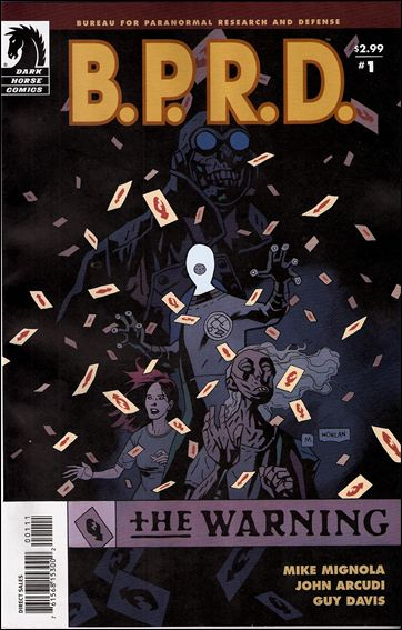 B.P.R.D.: The Warning 1-A by Dark Horse